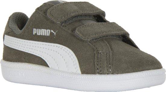 fca14009a96 bol.com | Puma Smash Fun SD V Sneakers - Maat 21 - Unisex - grijs/wit