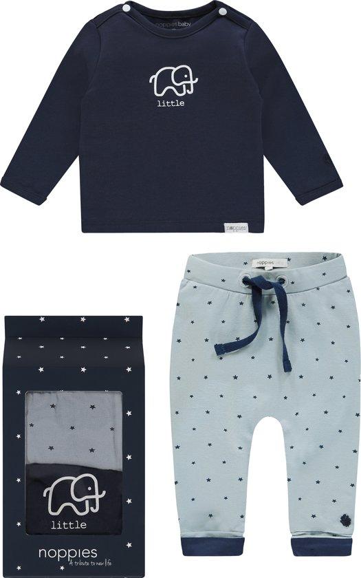 Noppies baby Gift Set 1 - Grey Blue - Maat 62