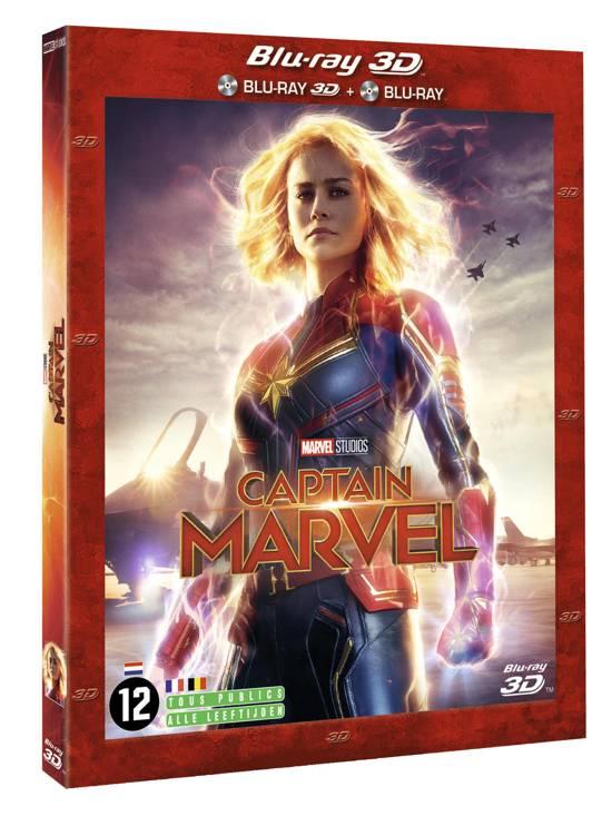 DVD cover van Captain Marvel (3D Blu-ray)