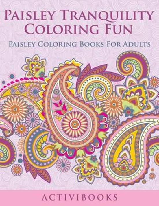 Paisley Tranquility Coloring Fun