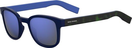 BOSS ORANGE 0193/S Zonnebril - Blauw