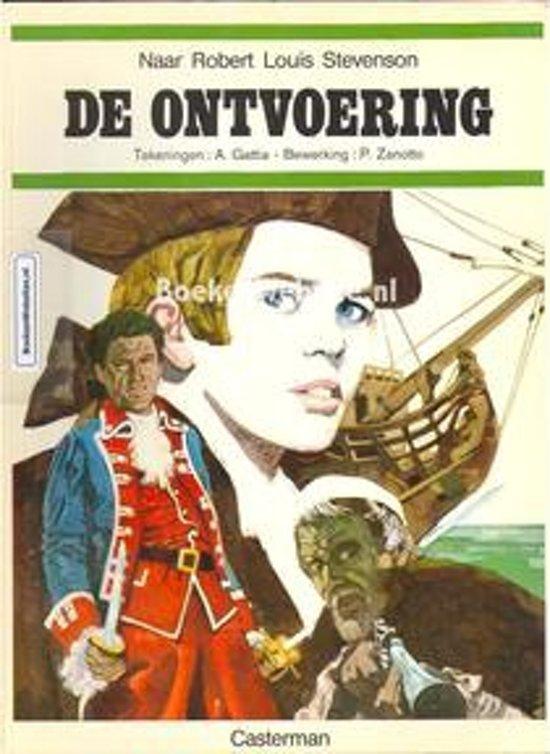de Ontvoering Casterman stripboek - Robert Louis Stevenson |