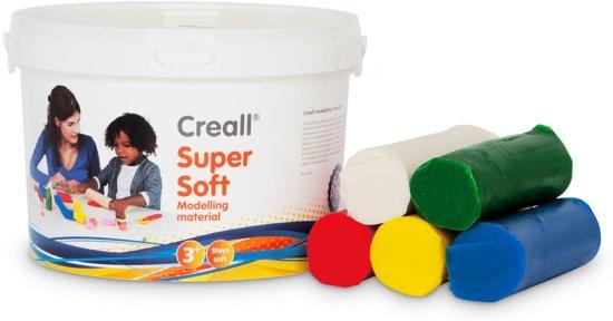 Creall Super Soft - 1750gram - 5 kleuren