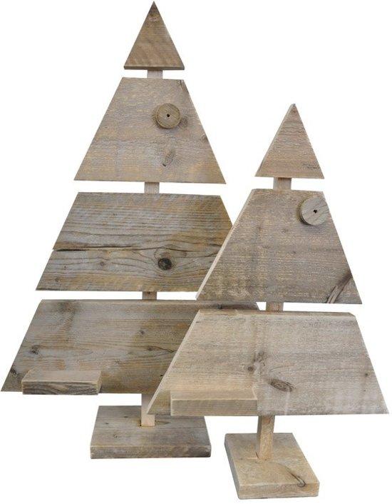Houten kerstboom steigerhout for Houten tuinkast intratuin