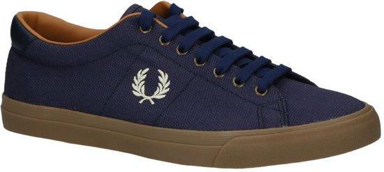 Fred Perry - B 3073  - Sneaker laag gekleed - Heren - Maat 46 - Blauw;Blauwe - F46 -Midnight Navy