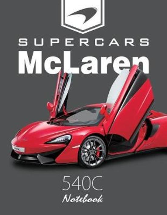 Supercars McLaren 540c Notebook