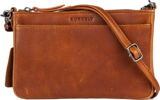 79ec014bf1ea5 bol.com | BURKELY Antique Avery X-Over - Crossbodytas - Cognac