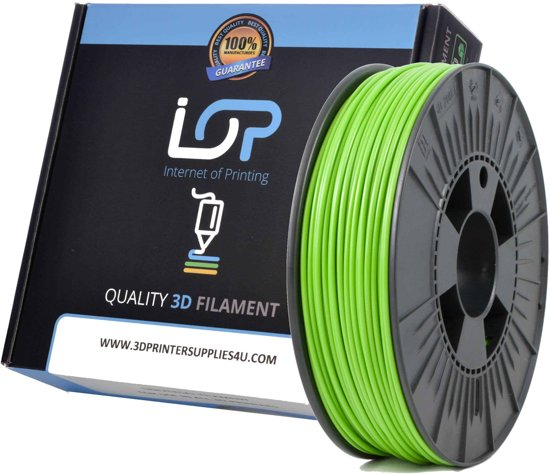 IOP PLA 2,85mm Apple Green 1kg