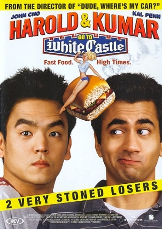 Cover van de film 'Harold & Kumar Go To White Castle'