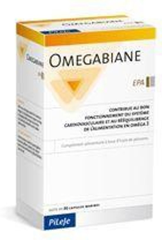 Pileje Voedingssupplementen Omegabiane EPA