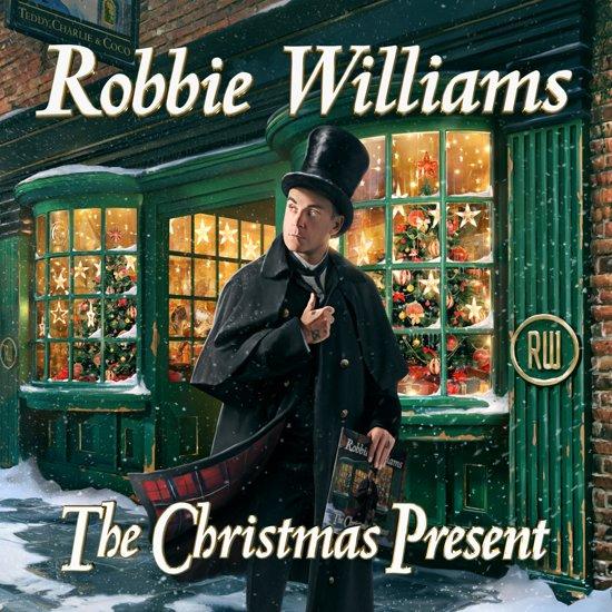 CD cover van The Christmas Present van Robbie Williams