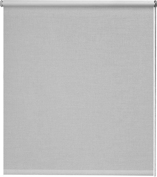 Intensions - Rolgordijn Verduisterend - Structuur - Kubus Lichtgrijs - 90x190 cm