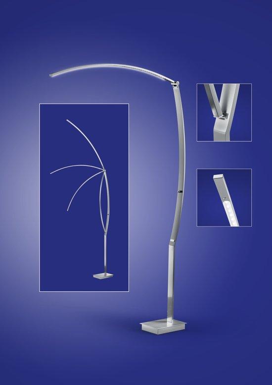 LT-Luce Vloerlamp Tree Led RVS 135cm