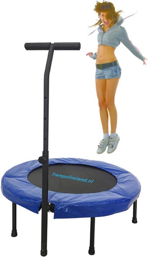 Trampolineland Deluxe trampoline met beugel 96 cm Geel