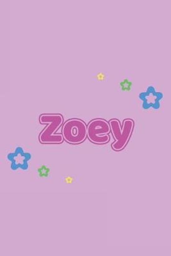 Zoey: Vornamen Notizbuch f�r Frauen und M�dchen - Notizbuch, Notizheft oder Schreibheft f�r Schule, Uni, Beruf, Job oder Ein