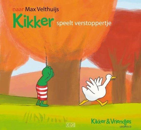 Boek cover Kikker speelt verstoppertje van Max Velthuijs (Hardcover)