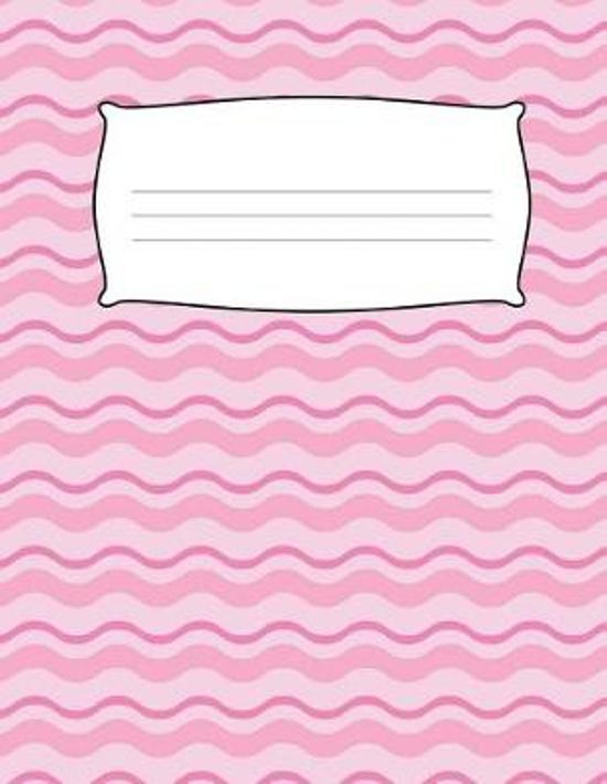 Kids Pink Primary Journal Composition Notebook