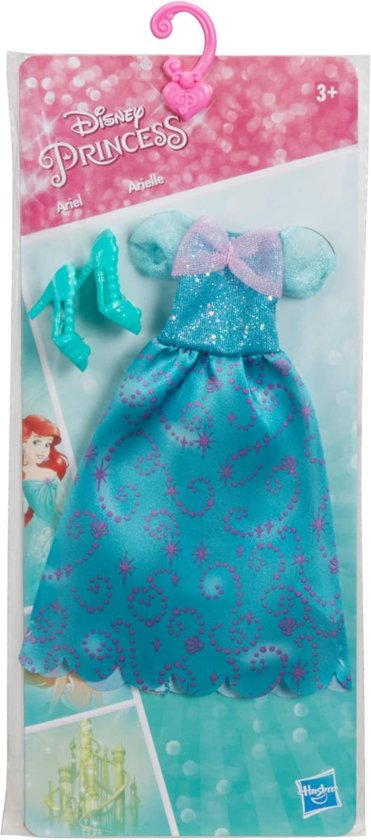 Hasbro Disney Belle Prinsessenjurk 2-delig Groen