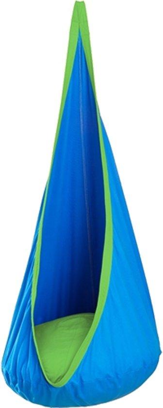 JOKI hangstoel - hangnest blauw/groen
