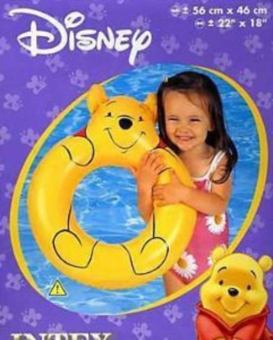 2x Zwemband Winnie de Pooh - 56x46cm | Intex 58271
