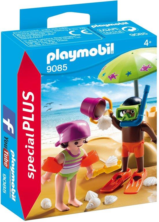 Playmobil Special Plus: Kinderen Met Zandkasteel (9085)