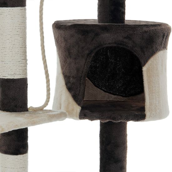 Krabpaal - Bruin/Beige - 112 cm