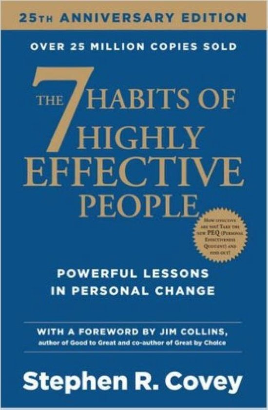 Boek cover The Seven Habits of Highly Effective People (re-issue) van Stephen R. Covey (Paperback)