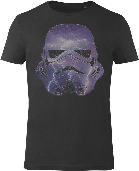 Star-Wars-T-shirt-met-korte-mouw-zwart - Maat XL
