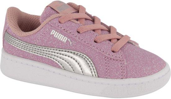 Puma Smash V2 kinder sneakers - Roze - Maat 22