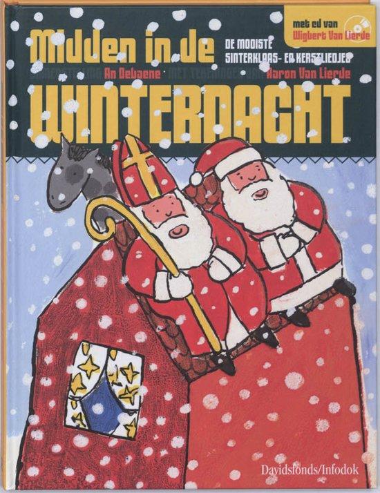 Cover van het boek 'Midden in de winternacht + CD' van An Debaene