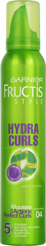 Garnier Fructis Style Hydra Curls Extra Strong - 200ml - Mousse