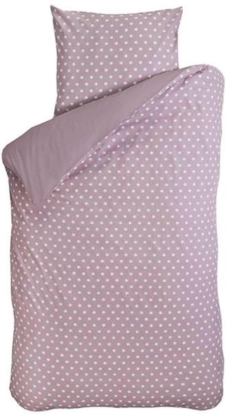 BINK Bedding Big Stars dekbedovertrek Roze Junior (120x150 cm + 1 sloop)