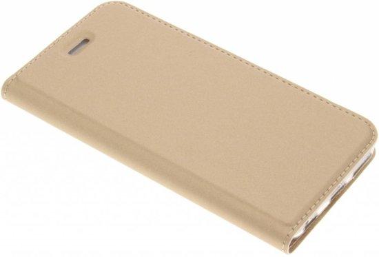 Dux Ducis - iPhone 6 Slim Fit Book Case - Goud in Verlaine
