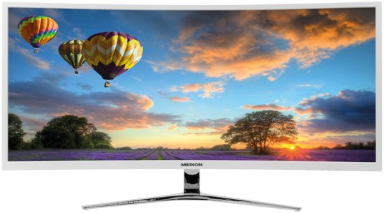 MEDION AKOYA X58434 34'' Ultra-Wide Quad HD LED Wit computer monitor