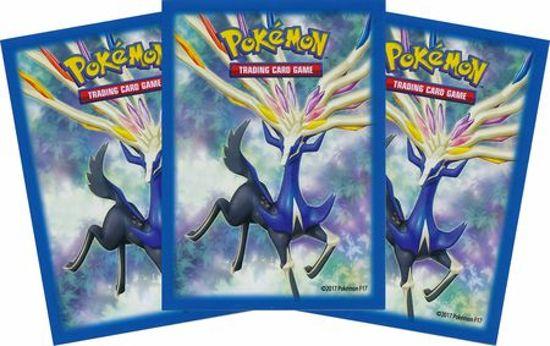 Afbeelding van het spel Pokemon Xerneas Sleeves (65 Stuks)