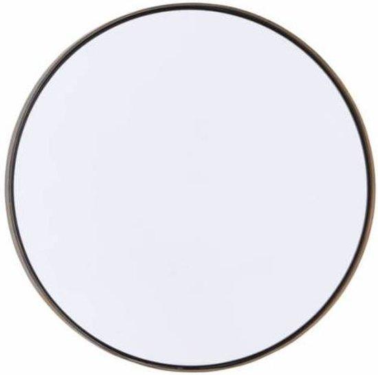 Spiegel Reflektion antiek - Ø40x3 cm