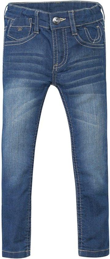 3pommes meisjes spijkerbroek - blue navy - maat 152