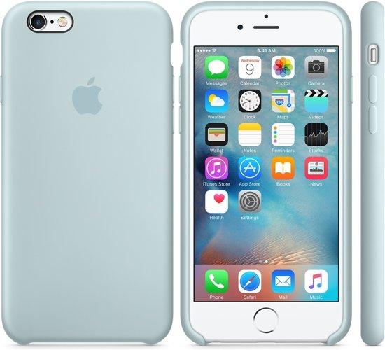 1224bb1d0010d2 Apple iPhone 6s hoesje van siliconen - Turquoise