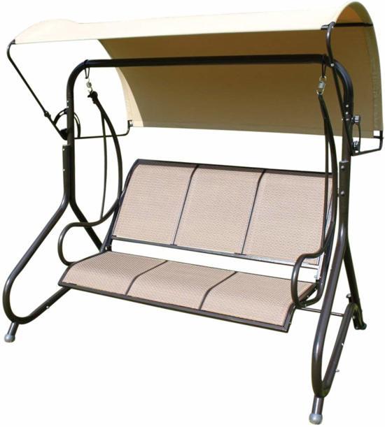 bol | blenheim comfortabele schommelbank voor in de tuin