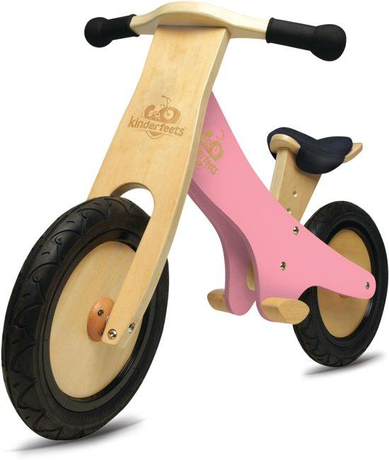 Kinderfeets Chalkboard - Loopfiets - Roze
