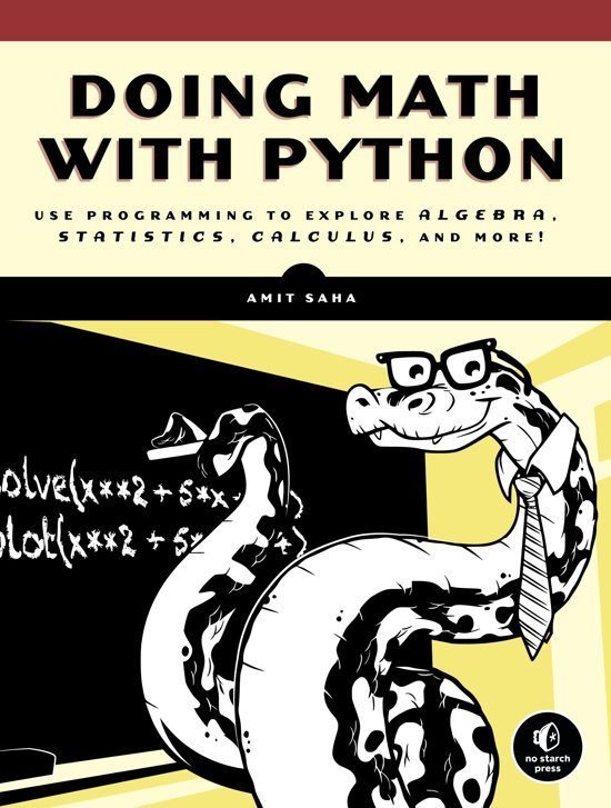 Bol Doing Math With Python Ebook Amit Saha 9781593277192