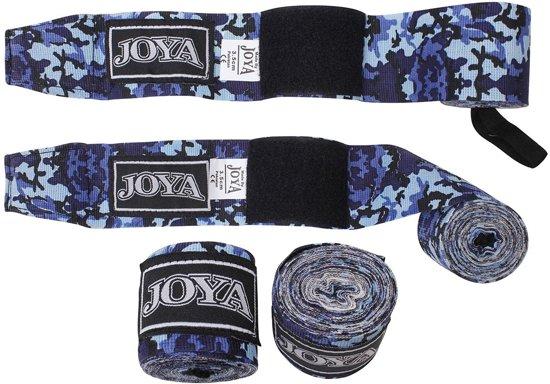 Joya Fight Gear Wrap Velcro - Bandages - Camouflage Blauw - 280 cm