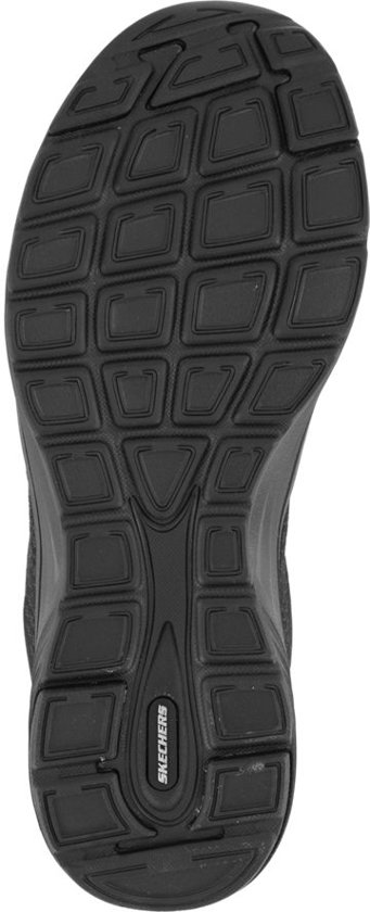 Maat Zwarte Memory 37 Foam Sneaker Skechers Dames x6Xp5w