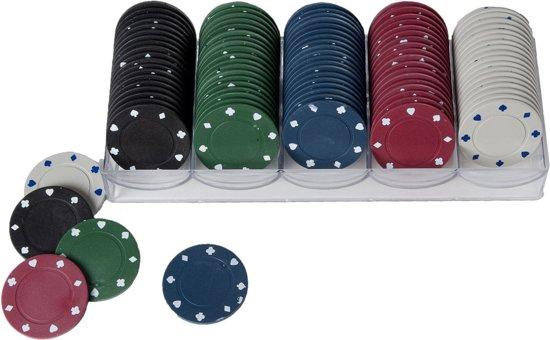 Afbeelding van het spel Longfield Games Fiches - 100 Stuks