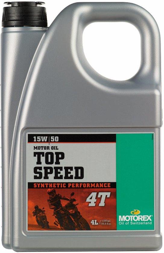 Motorex Top Speed 4T 15W/50-4Liter