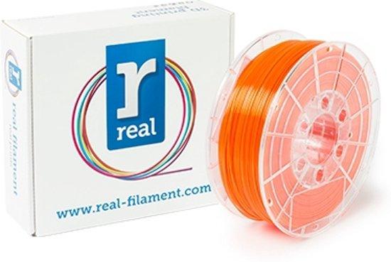 REAL Filament PETG transparant oranje 1.75mm (1kg)