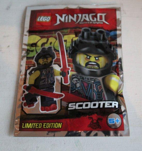 Lego Ninjago minifigure SCOOTER (polybag)
