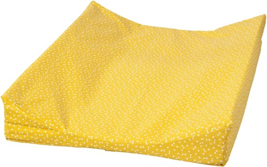 4ddc2a8e1ac50b bol.com | Cottonbaby Aankleedkussenhoes geo okergeel