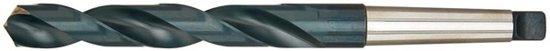 Spiraalboor Type N, profielgeslepen, met morseconus schacht HSS DIN 345 15,00mm FORMAT