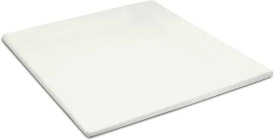 Cinderella - Topper hoeslaken (tot 15 cm) - Katoen - 90x210 cm - Ivory